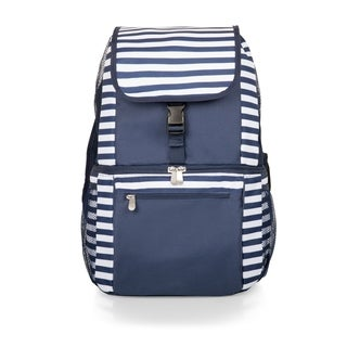 Link to Zuma Backpack Cooler, (Navy & White Stripes) Similar Items in Picnic