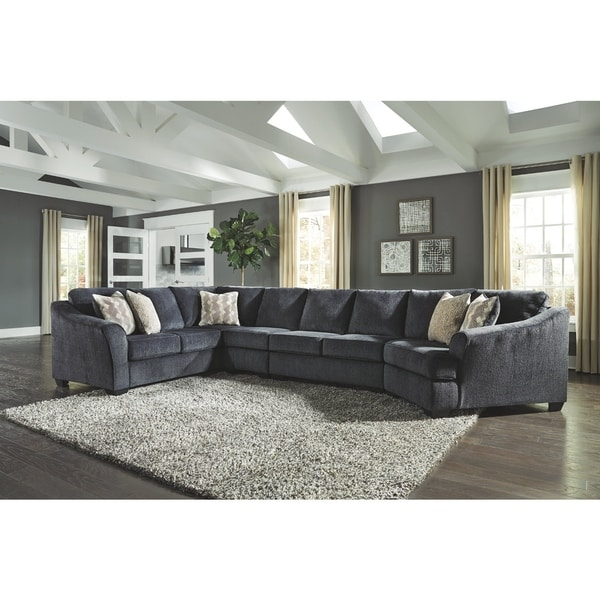 Eltmann 4 Piece Sectional With Chaise: Shop Eltmann 4-Piece Sectional With Right Arm Facing
