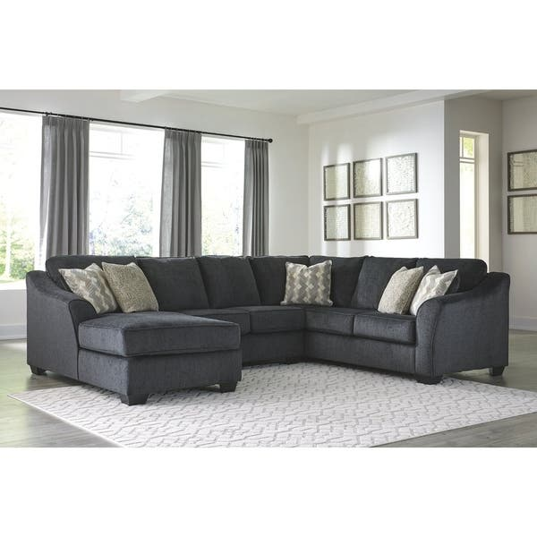 Shop Eltmann 3-Piece Sectional with Left Arm Facing Chaise ...
