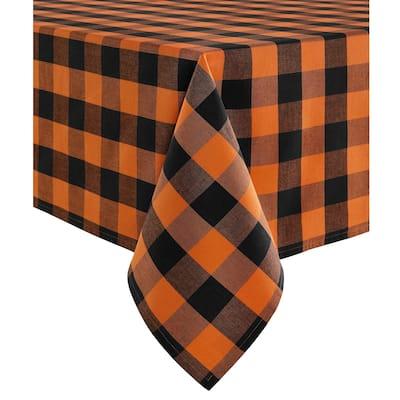 The Gray Barn Bunyan Fall Buffalo Check Tablecloth