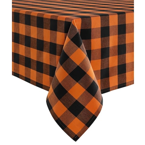 The Gray Barn Bunyan Fall Buffalo Check Tablecloth