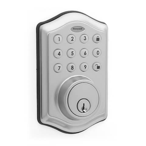 Honeywell Electronic Entry Deadbolt Door Lock