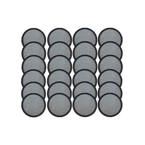 Mr.Coffee Activated Charcoal Water Filter Discs Premium Replacement. 24 in Pack