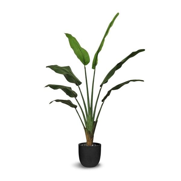 Ravenala Artificial Faux Botanical - Green - 56 Inch