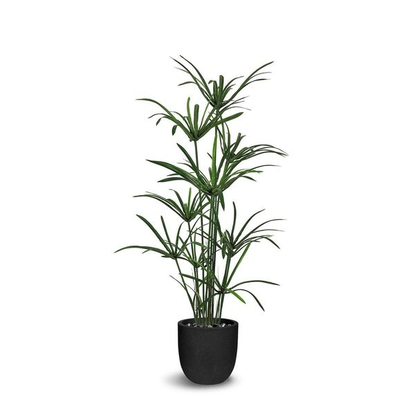 Le Present Cyperus Green 51-inch Artificial Faux Botanical