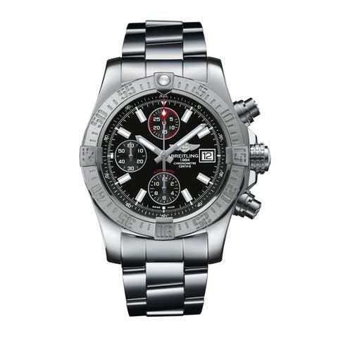 Breitling Avenger II Steel Automatic Mens Watch A13381111B1A1
