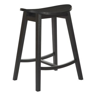 "Link to York 24"" Scoop Counter Height Bar Stool (Set of 2) Similar Items in Dining Room & Bar Furniture"