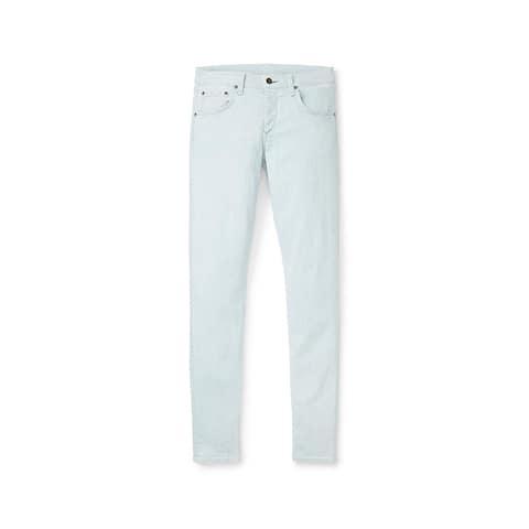 Rag & Bone Standard Issue White Water Light Blue Jeans