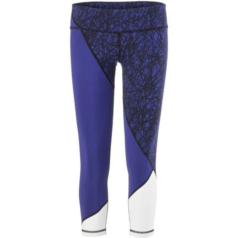 Vimmia Women's Scribble Adagio 3/4 Pant Size Scribble Blue