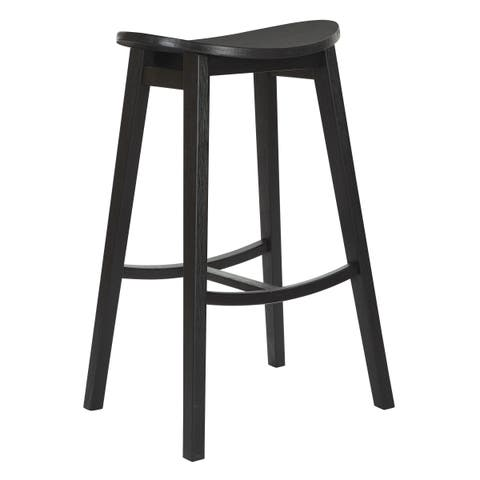 "OSP Home Furnishings 29"" York Scoop Bar Stool (Set of 2)"