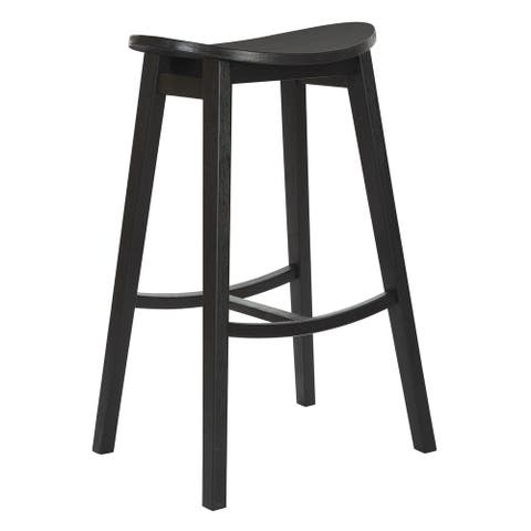 "29"" York Scoop Bar Stool (Set of 2)"