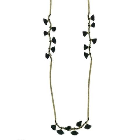 Handmade Krisha Tassel Necklace (India)