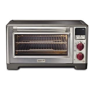 Wolf Gourmet Elite Countertop Convection Oven With Red Knobs - WGCO150S