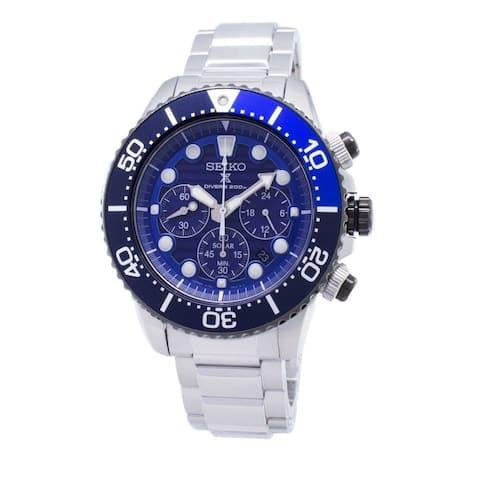 Seiko SSC675J1 Prospex Blue Dial Watch