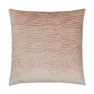 Rivers-Blush  Feather Down Hidden Zipper 14 x 24 in Decorative Throw Pillow