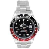 Pre-owned 40mm Rolex Stainless Steel Oyster Perpetual GMT-Master II Watch