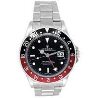 Pre-owned 40mm Rolex Stainless Steel Oyster Perpetual GMT-Master II Watch - N/A - N/A