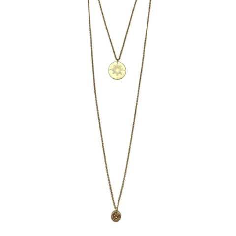 Handmade Layered North Star Bullet Necklace (Cambodia)
