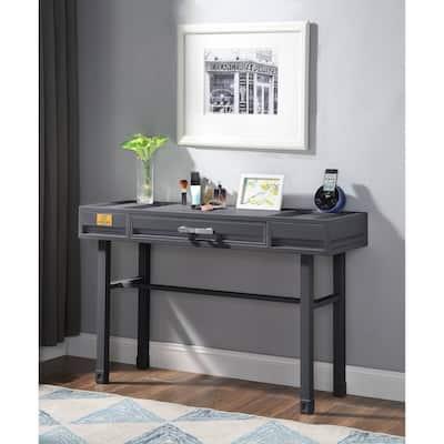 ACME Cargo Vanity Desk in Gunmetal