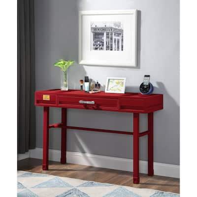 ACME Cargo Vanity Desk in Red
