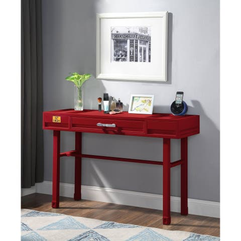 ACME Cargo Vanity Desk in Red