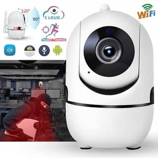720P HD Wifi PTZ Camera Motion Tracking Automatic Tracking Two-Way Voice Home Security Camera IR Night Vision Camcorder
