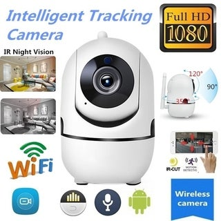Link to 1080P HD Wifi PTZ IR Camera Motion Automatic Tracking Two-Way Tracking Voice Home Security Camera IR Night Vision recorder Similar Items in Surveillance