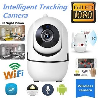 1080P HD Wifi PTZ IR Camera Motion Automatic Tracking Two-Way Tracking Voice Home Security Camera IR Night Vision recorder