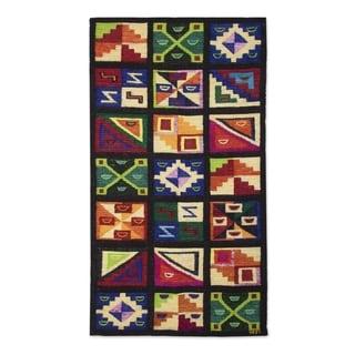 Link to Handmade Calendar Wool tapestry(Peru) Similar Items in Decorative Accessories