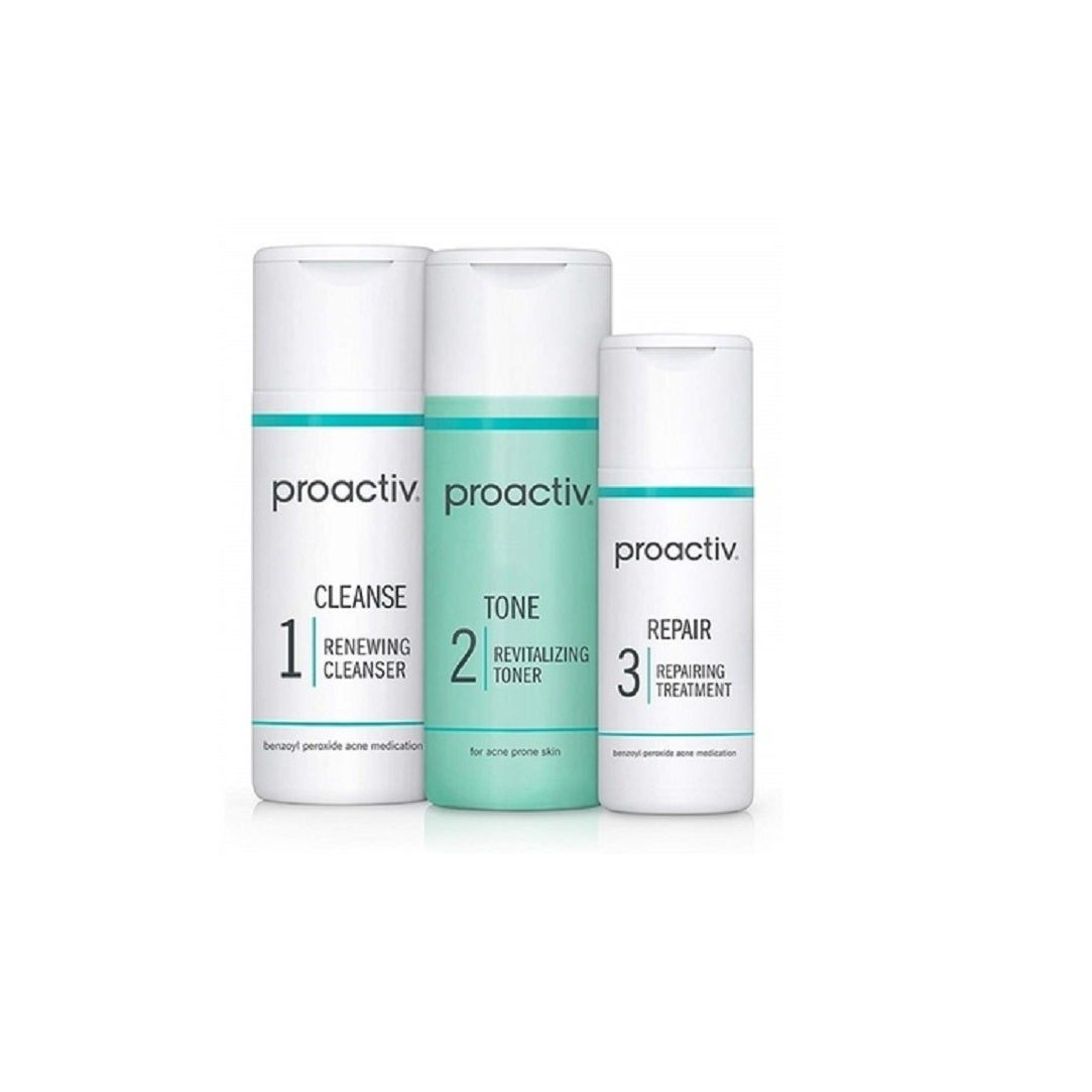 Shop Proactiv 3 Step Acne Treatment System 30 Day Overstock 28248129
