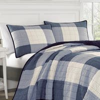 Nautica Bartow Navy Cotton Quilt