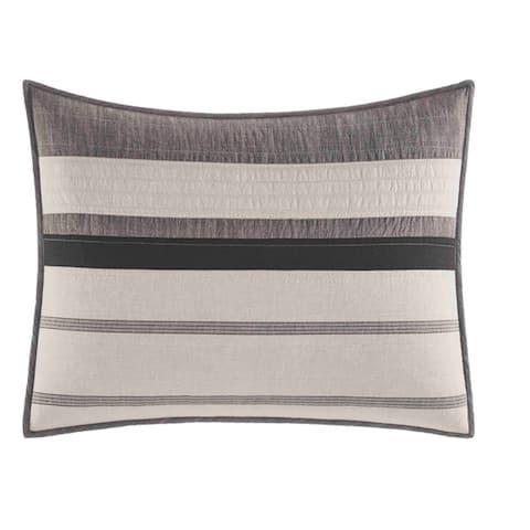 Nautica Kelsall Charcoal Cotton Quilt