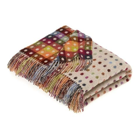 Bronte Moon - Multispot Beige Throw