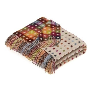 Link to Bronte Moon - Multispot Beige Throw Similar Items in Blankets & Throws