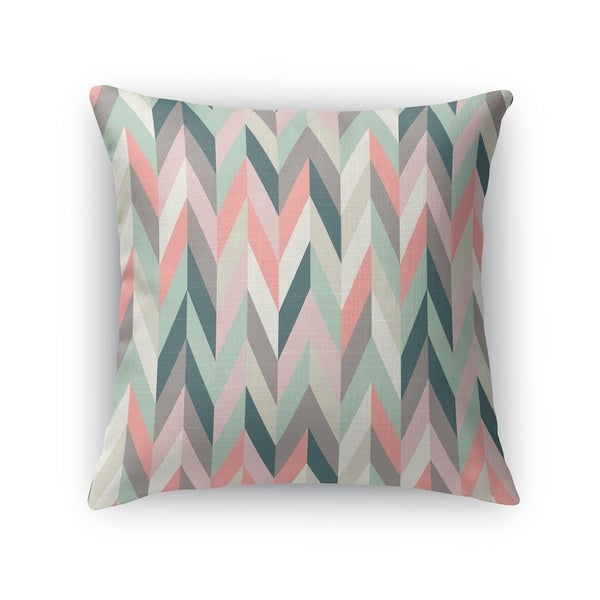 AARON PINK Accent Pillow By Kavka Designs