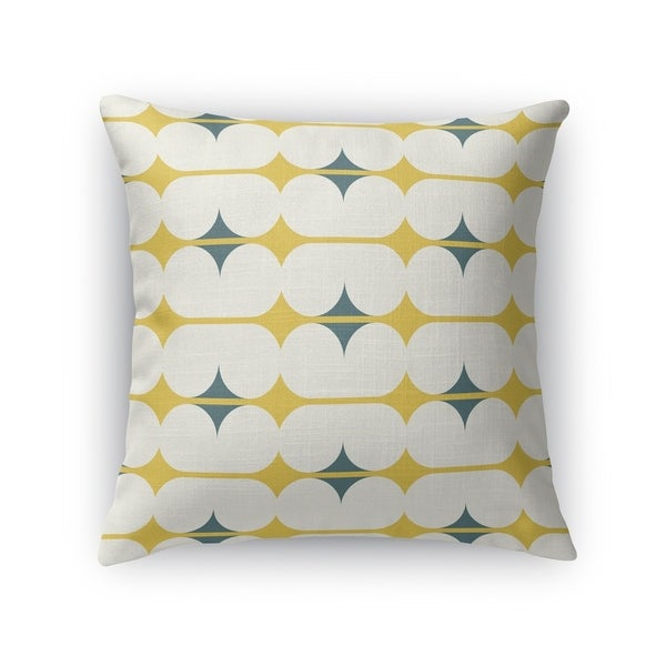 CAPSULES GOLD Accent Pillow By Kavka Designs