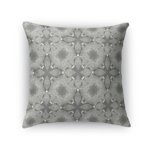 GRAVEL MOSAIC GREY Accent Pillow By Kavka Designs