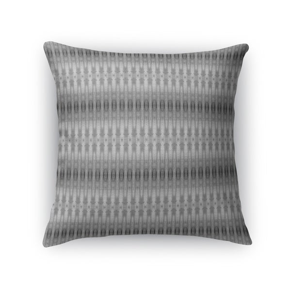 GRADIENT STRIPES GREY Accent Pillow By Kavka Designs
