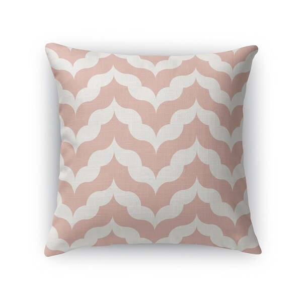 CURRENTS DUSTY ROSE Accent Pillow By Kavka Designs