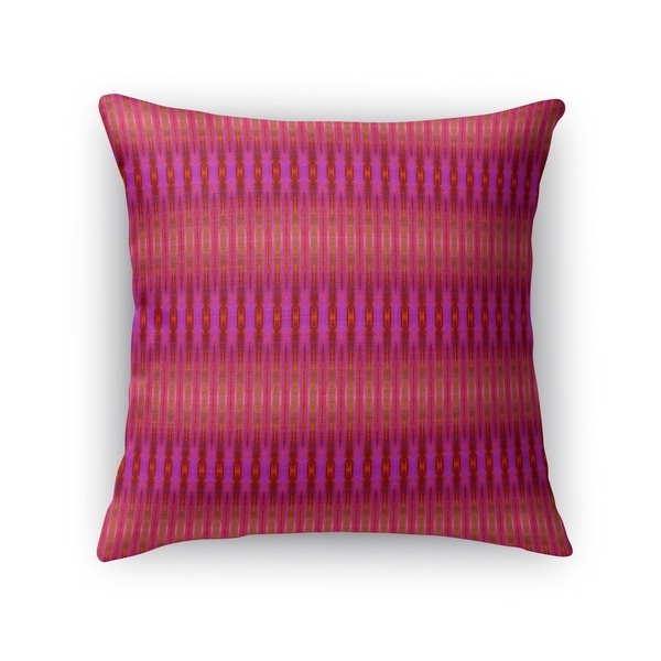 GRADIENT STRIPES FUCHSIA Accent Pillow By Kavka Designs