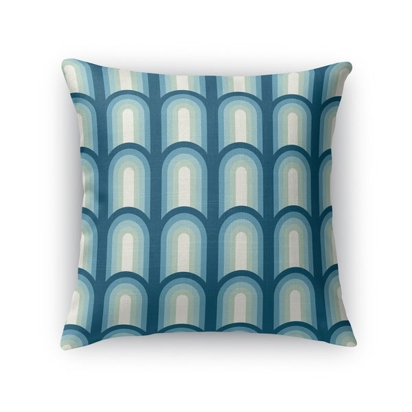 ARCHES BLUE Accent Pillow By Kavka Designs