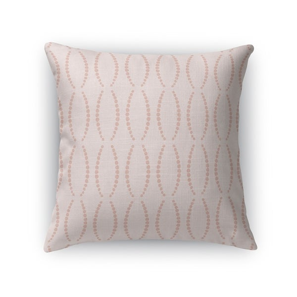 BEADS BLUSH Accent Pillow By Kavka Designs