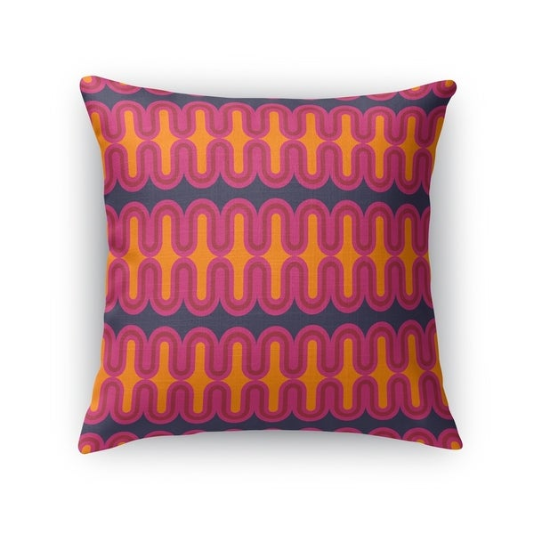 RADIATOR ORANGE Accent Pillow By Kavka Designs