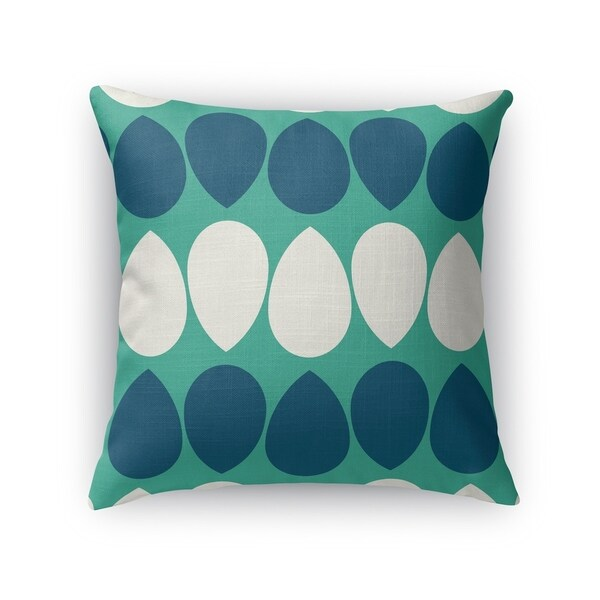 WILMA DARK SEAFOAM Accent Pillow By Kavka Designs