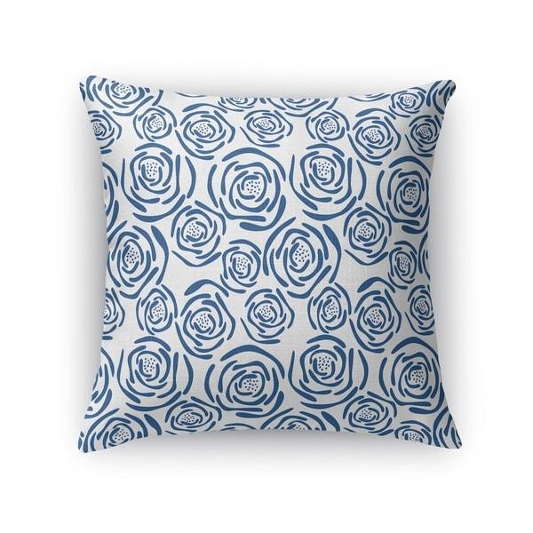 FLEUR BLUE Accent Pillow By Kavka Designs