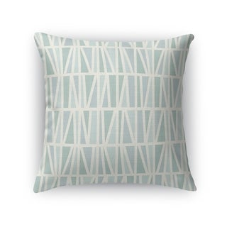 SLANTED MINT Accent Pillow By Kavka Designs