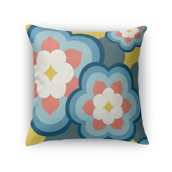 POP FLOWERS Accent Pillow By Kavka Designs