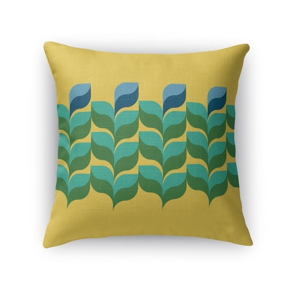 JARDIN GOLD Accent Pillow By Kavka Designs