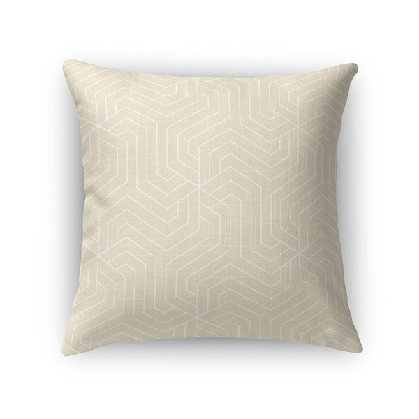 BRICKLE OATMEAL Accent Pillow By Kavka Designs