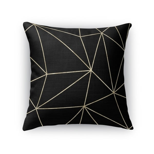 PRISM DARK GOLD Accent Pillow By Kavka Designs